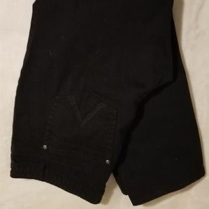 Reitmans black denim pants